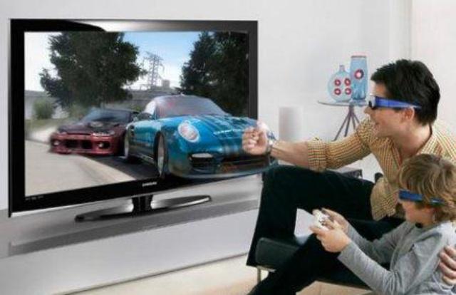 telewizor 3D dom