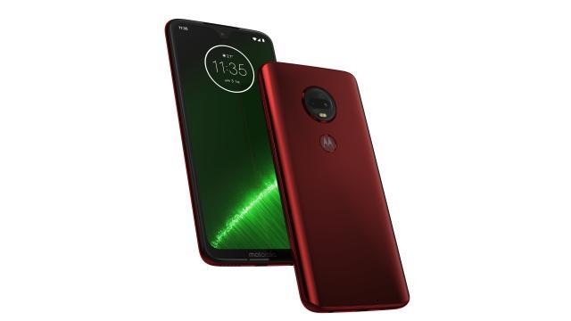 Motorola Moto G7 Plus w odważnym kolorze