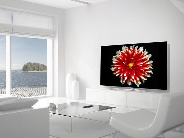 LG OLED55B7V design