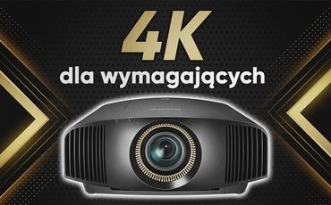Sony VPL-VW590ES - Bezkompromisowy projektor 4K
