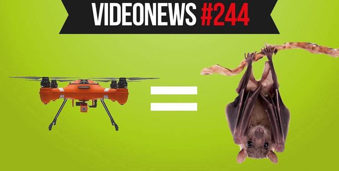 Dron niczym nietoperz, superkomputery kontra koronawirus, nowe Redmi - VideoNews #244
