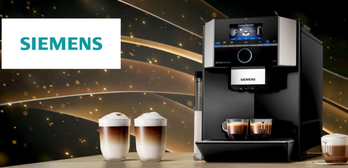 Siemens EQ.9 plus s500 TI955209RW na stole