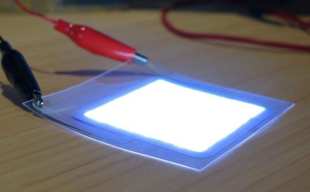 Świecący Papier Przyszłością Technologii LED