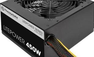 Thermaltake Litepower II Black 450W (Active PFC, 2xPEG, 120mm)