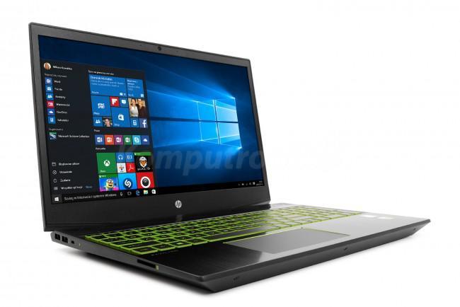 HP Pavilion Gaming 15-cx0008nw (4TY55EA) - 480GB SSD | 12GB