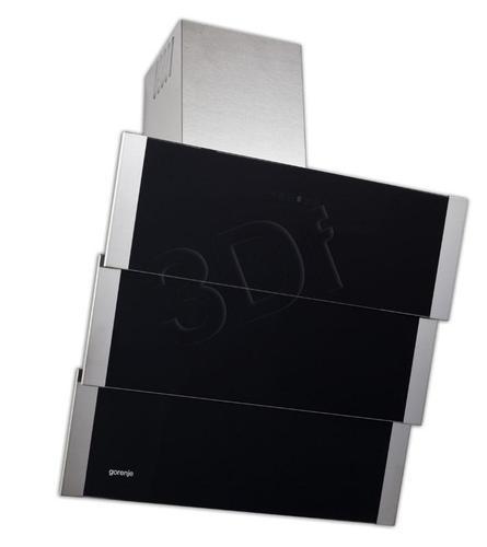 GORENJE DVG 600 ZBE (Inox- czarny/ wydajność 800m)