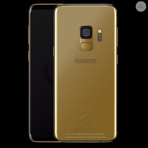 złoty galaxy s9