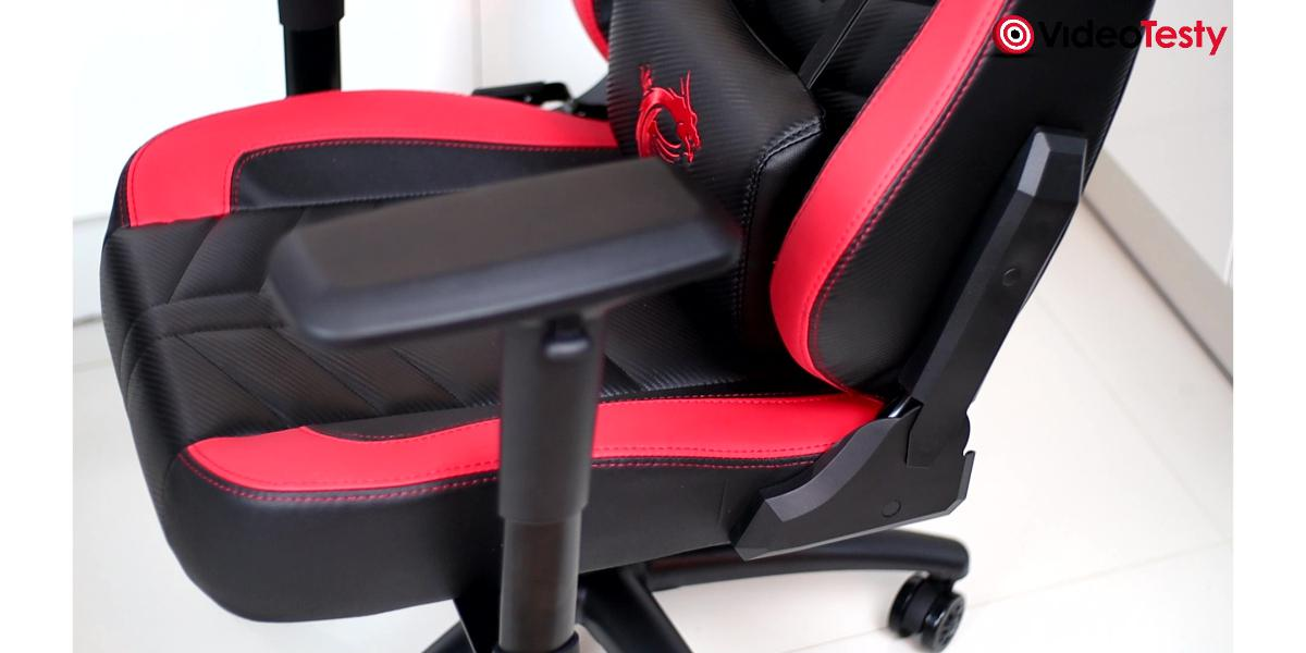 MSI MAG CH110 - łączenie siedziska i oparcia