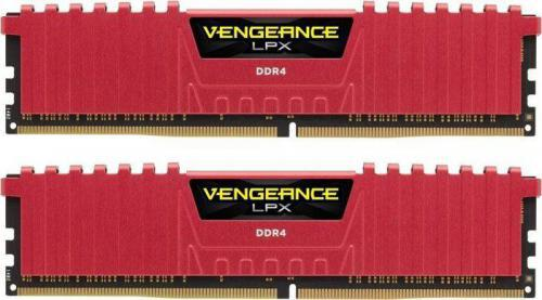 Corsair DDR4 Vengeance LPX 16GB/2133(2*8GB) CL13-15-15-28 RED 1,20V XMP 2.0