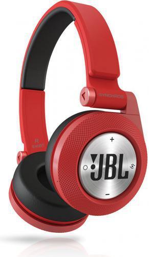 Słychawki nauszne Jbl Synchros E40BT czerwone