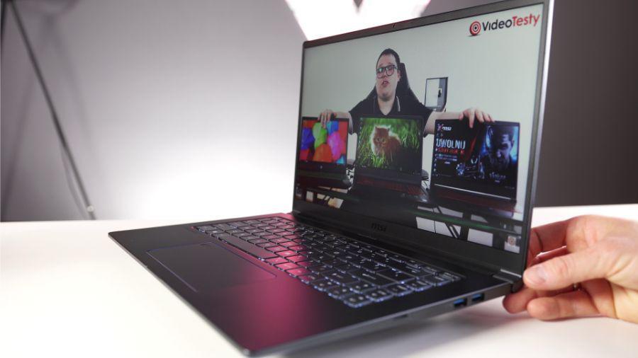 MSI PS63 Modern - recenzja laptopa