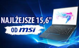 MSI PS63 Modern - Recenzja lekkiego laptopa z dużą baterią