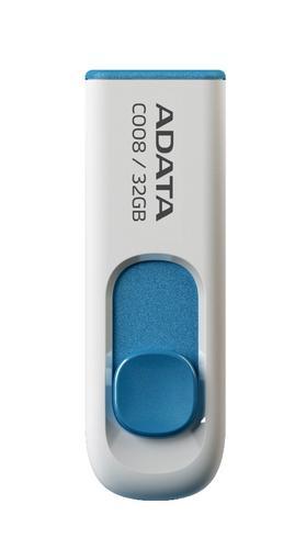 A-Data DashDrive Classic C008 32GB USB2.0 biało- niebieskie