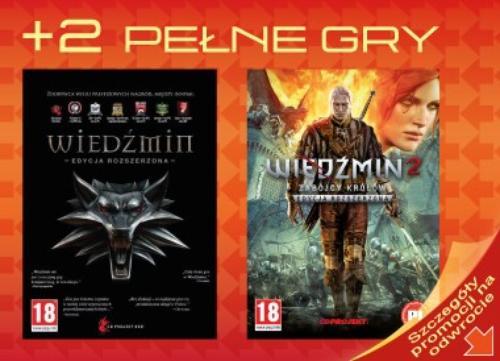 Plantronics Gamecom RIG SCEE PS4 White + gry Wiedźmin I i II