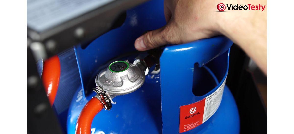 Jak wyłączyć piecyk gazowy zaworem w butli?