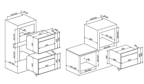 Smeg SF4800MP kuchenka mikrofalowa