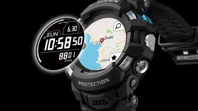 Casio G-Shock oparty o Wear OS