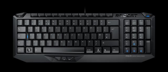 Roccat Arvo - dobra, gamingowa klawiatura