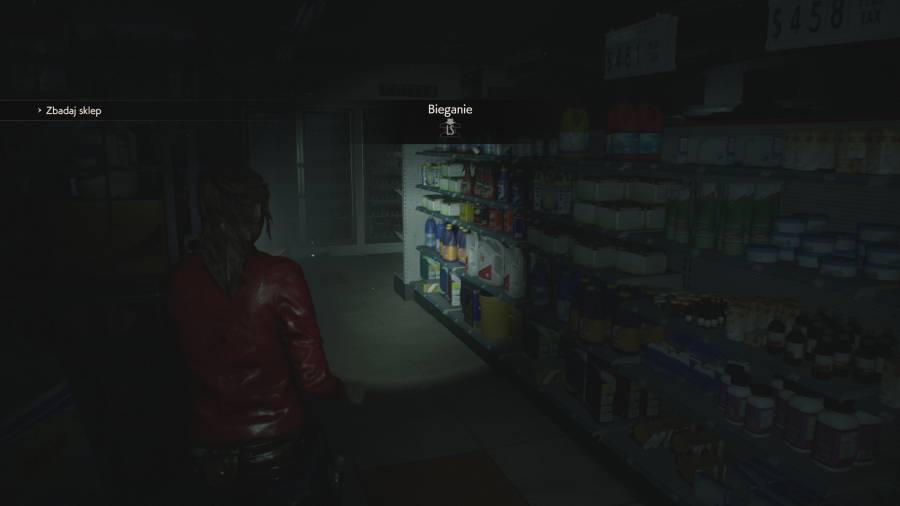 Resident Evil 2 - Zakupy w supermarkecie