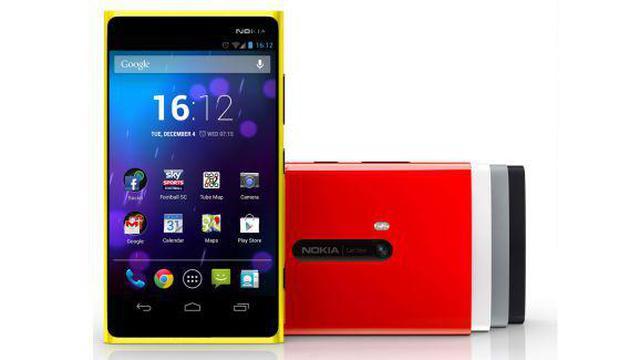 Nokia X z Androidem