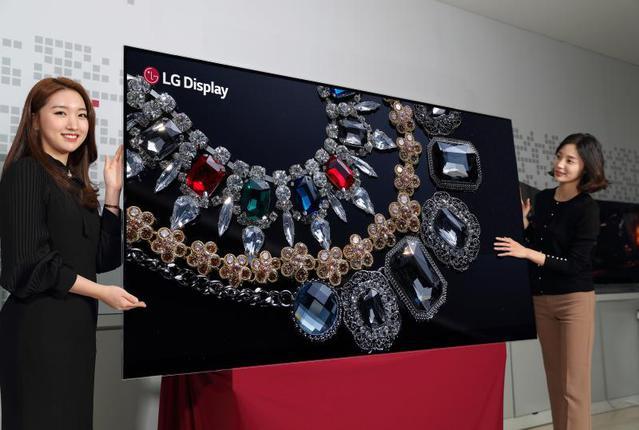 88-calowy panel OLED 8K to przełom w technologii.