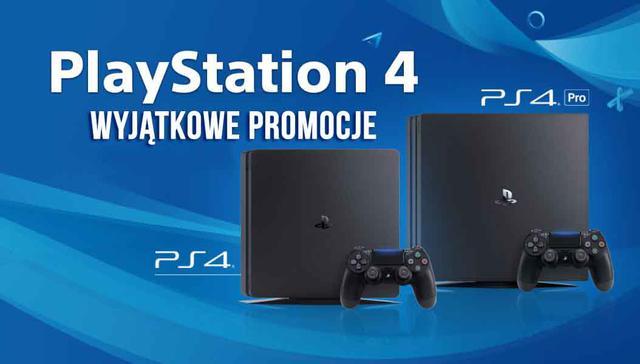 Sony rusza z promocjami na PlayStation 4!