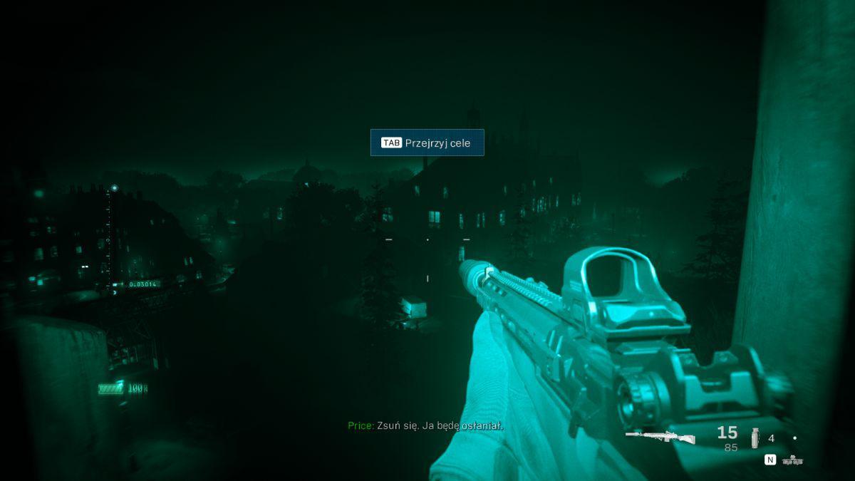Call of Duty: Modern Warfare - Akcja z noktowizorem