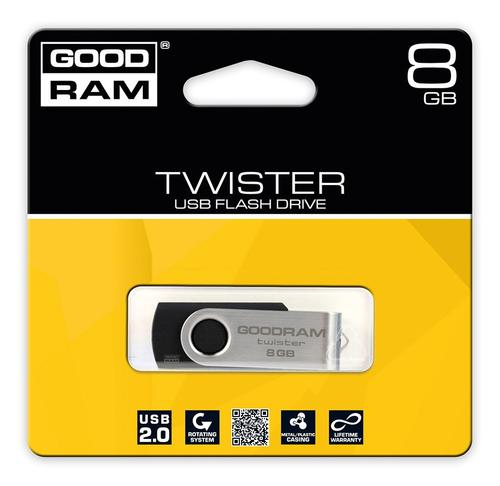 GoodRam Twister 8GB USB 2.0 Czarny