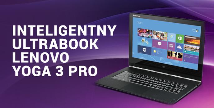 Inteligentny Ultrabook Lenovo Yoga 3 Pro