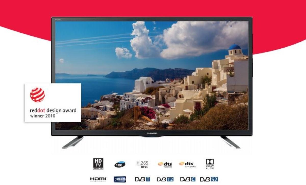 24-calowy telewizor Sharpa w promocji z maja 2020