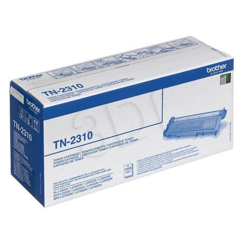 BROTHER Toner Czarny TN2310=TN-2310, 1200 str.