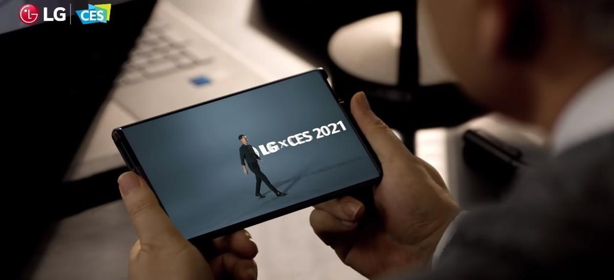 LG z rozsuwanym ekranem zobaczyliśmy dopiero pod koniec konferencji