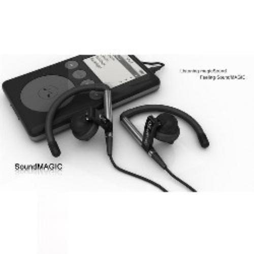 SoundMAGIC EH10 Black Sluchawki Sportowe Dousz