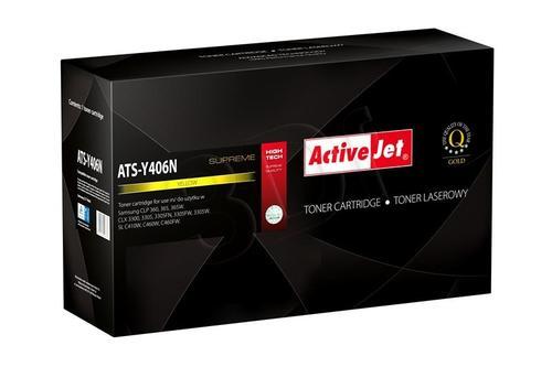 ActiveJet ATS-Y406N toner Yellow do drukarki Samsung (zamiennik Samsung CLT-Y406S) Supreme