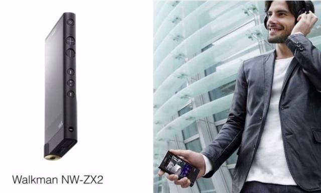 Debiut Nowego Odtwarzacza Sony NW-ZX2 Na Targach CES 2015