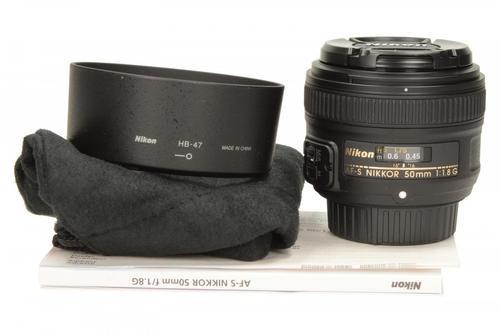 Nikon Obiektyw NIKKOR 50mm f/1.8 AF-S G