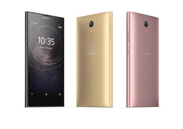 Tak prezentują się opcje kolorystyczne smartfona Xperia L2.