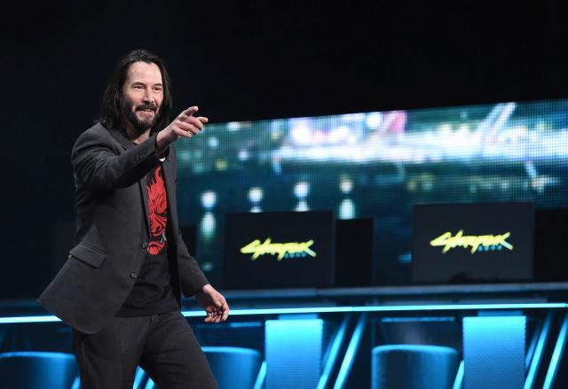 Keanu Reeves był ozdobą konferencji MIcrosoftu na E3