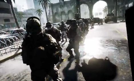 Battlefield 3 - 12-sto minutowy gameplay
