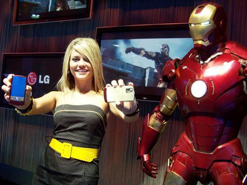 LG Iron Man