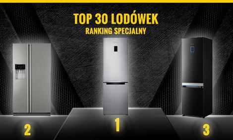 Polecane Lodówki 2015 - TOP 30 Najpopularniejszych Lodówek!
