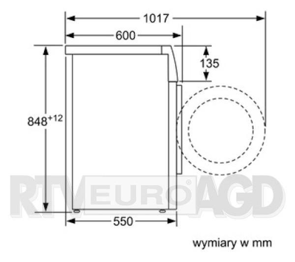 Bosch WAN2826EPL Serie 4 VarioPerfect