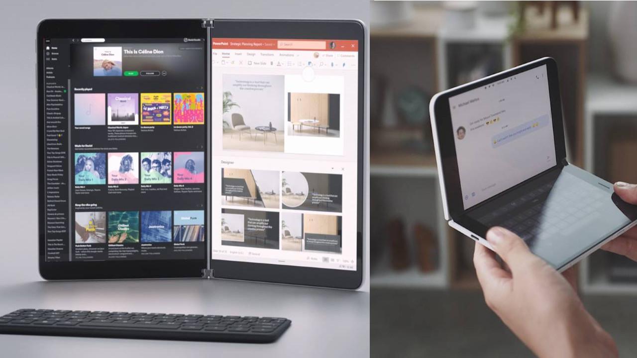 Microsof reaguje na modę na wyginane ekrany na swój sposób