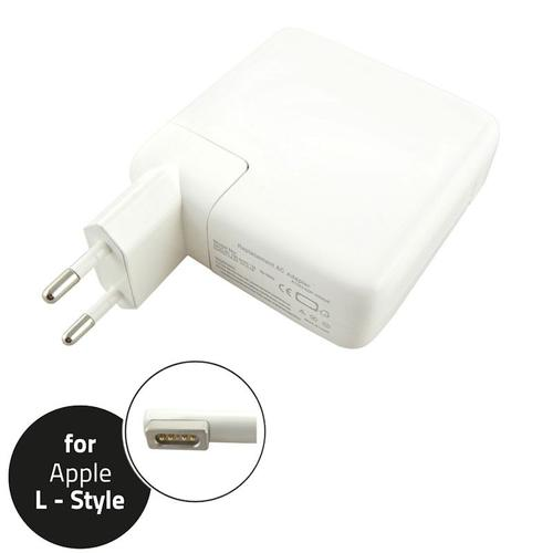 Qoltec Zasilacz do Apple 60W | 16.5V | 3.65A | L-Shape