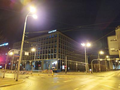 Zdjęcie nocą w trybie automatycznym