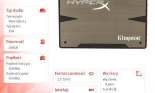 "Kingston HyperX 3K SERIES 240GB SATA3 2,5""+adapter 3,5"" 555/510MB/s 9,5mm + bundle kit"