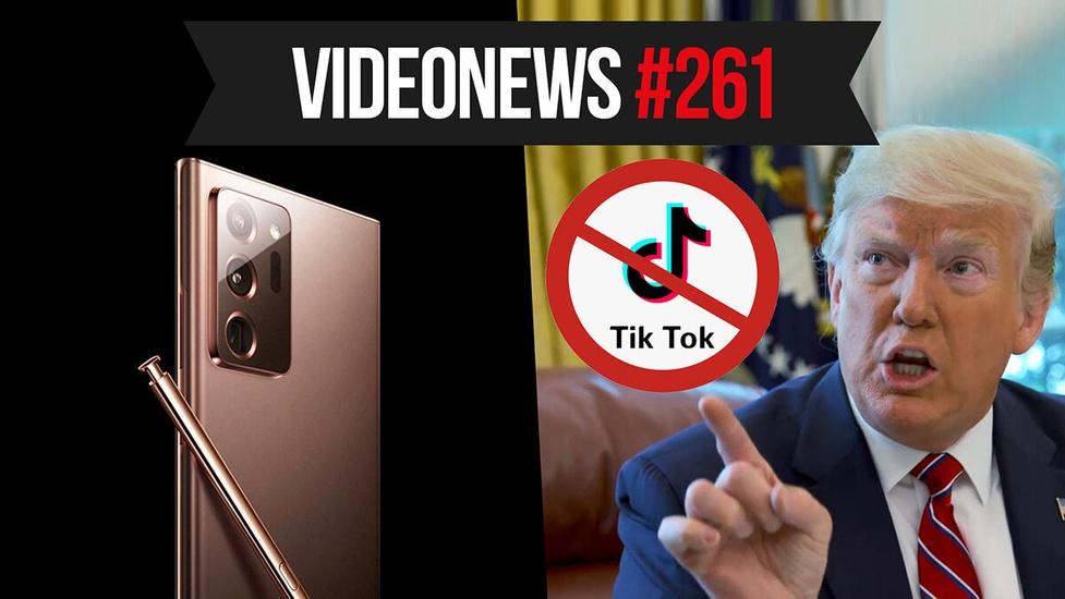 USA vs TikTok, Note 20 znów wycieka, pełne klatki Canona - VideoNews #261