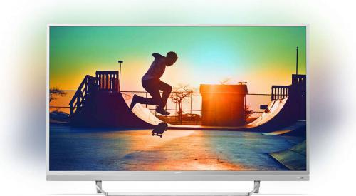 Philips 55PUS6482/12 4K, HDR, Android, Netflix, AMBILIGHT 3, QWERTY, DTS Sound + KOD RABATOWY
