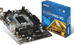 MSI B150M PRO-VD, B150, DDR4, SATA3, USB 3.1, mATX (B150M PRO-VD)