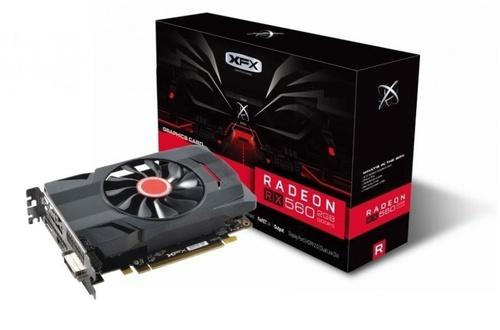 XFX Radeon RX 560D 2GB GDDR5 (128 bit), DVI-D, HDMI, DisplayPort, BOX